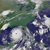 Катрина - снимок из космоса